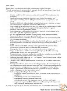 Afspraken en eigendom Put Caron. en andere zaken telefonisch besproken op 18 juli 2013a